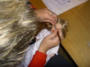 Montering av Ögonfransar
